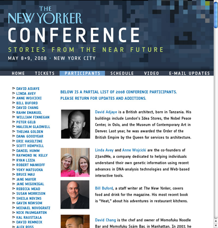 2nd New Yorker Conference